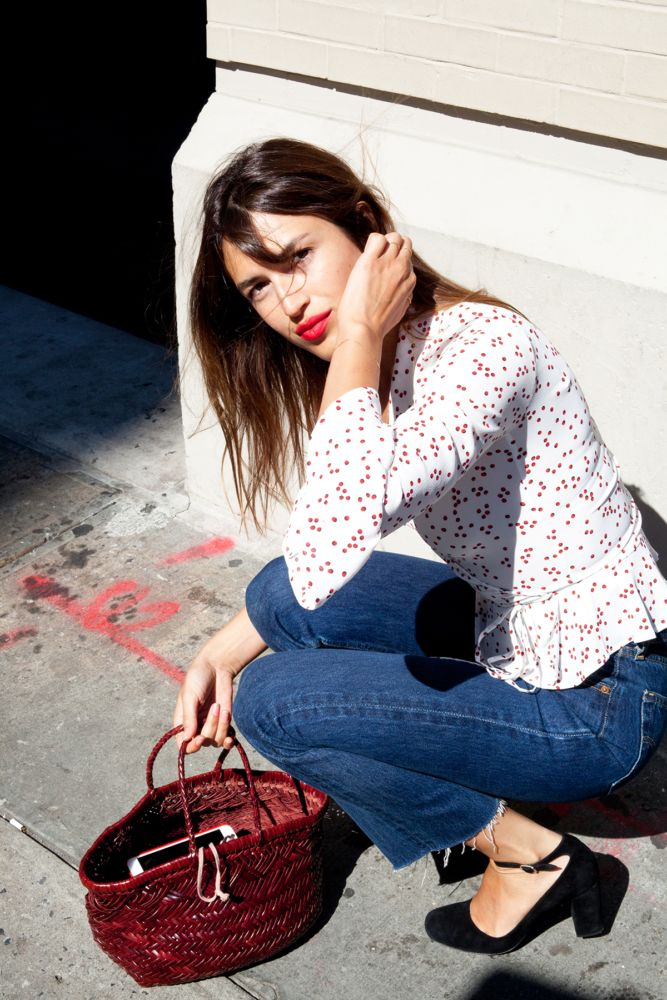 Jeanne Damas's clothing line, Rouje, is her version of the perfect wardrobe. She always looks so effortlessly cool and here's how to copy her!