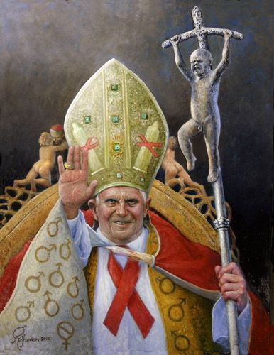 Rolf Groven  The Pope  2010