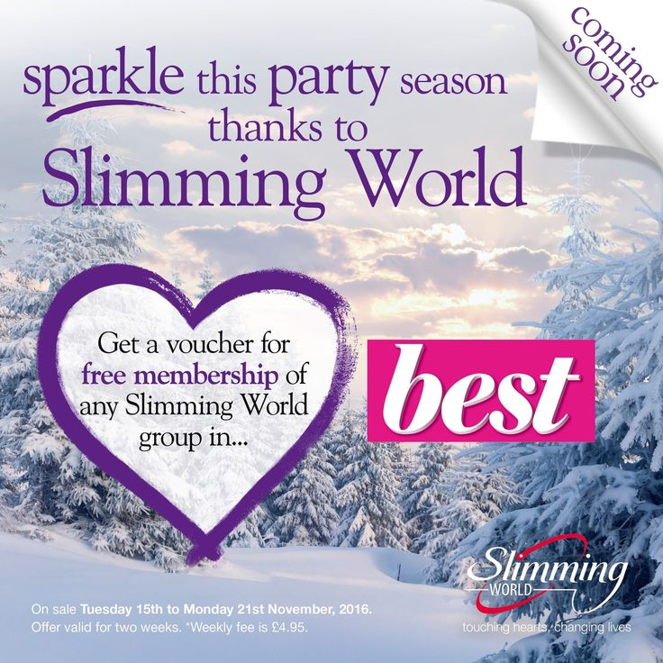 Join Slimming World with a free membership – Just Julie Blogs