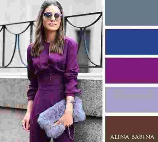 Les 25 meilleures id es de la cat gorie robe violette sur for Tenue de mariage conservation nyc