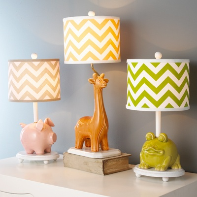 Piggy Bank Table Lamps - What a great idea!