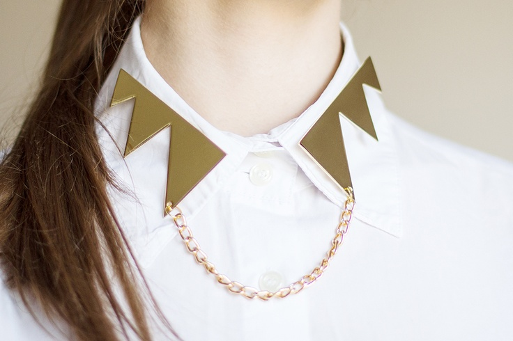 ZIGZAG COLLARS with magnets on the back available at www.gwaan.bigcartel.com
