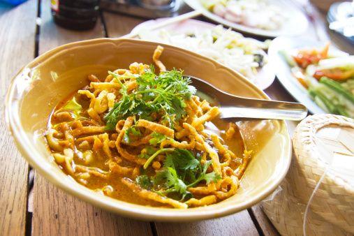 Soul Food: Ohn no kauk swe (Burmese noodle curry) The Kaukswe ...