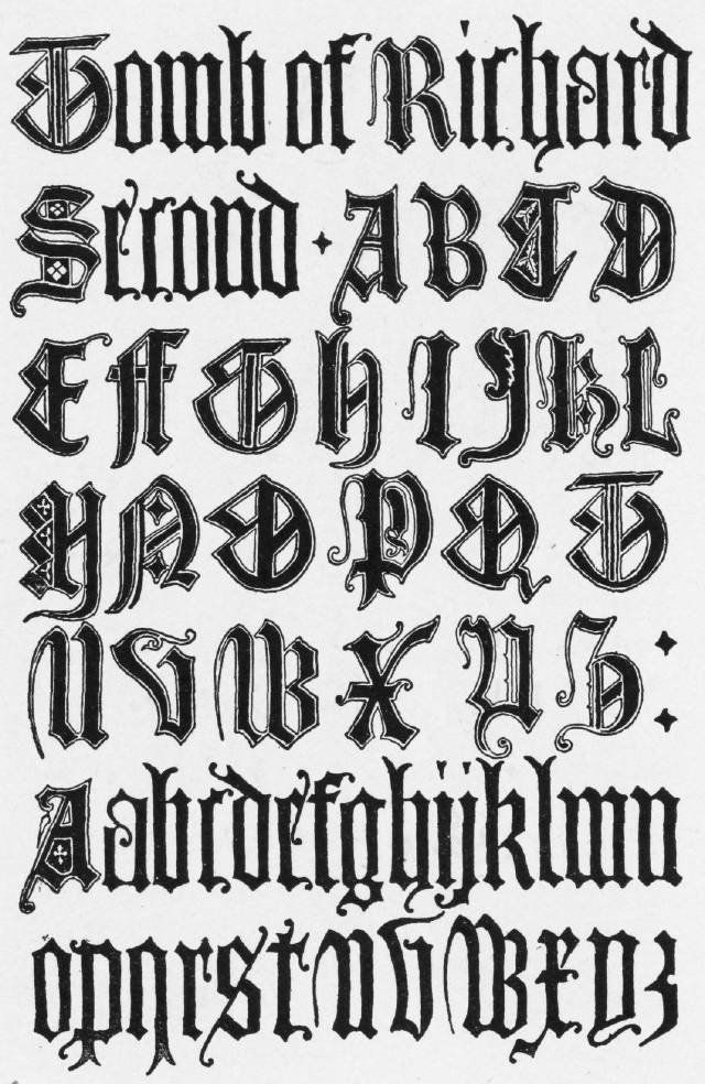 Calligraphy fonts medieval name frank chouteau