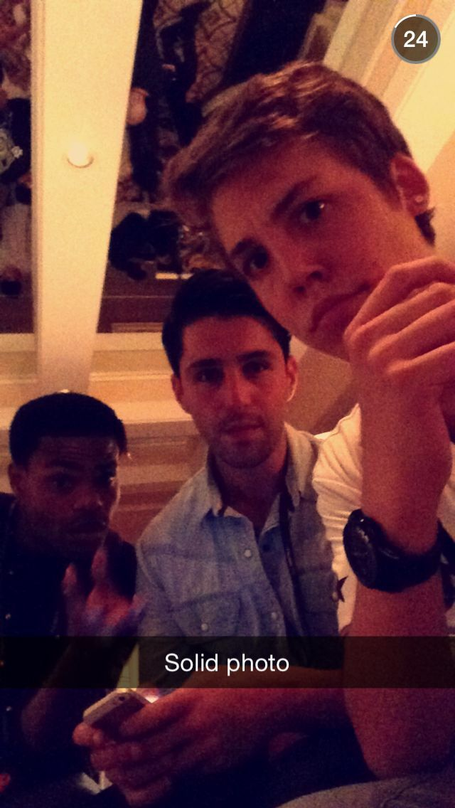 king bach, josh peck and matt <3