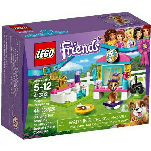 Temukan dan dapatkan diskon LEGO 41302 FRIENDS Puppy Pampering limited hanya Rp162.500 di Shopee sekarang juga! https://shopee.co.id/chakra_shop/461765977 #ShopeeID