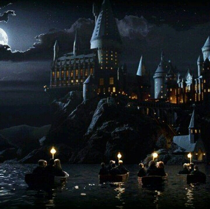 Hogwarts At Night Harry Potter Universal Harry Potter