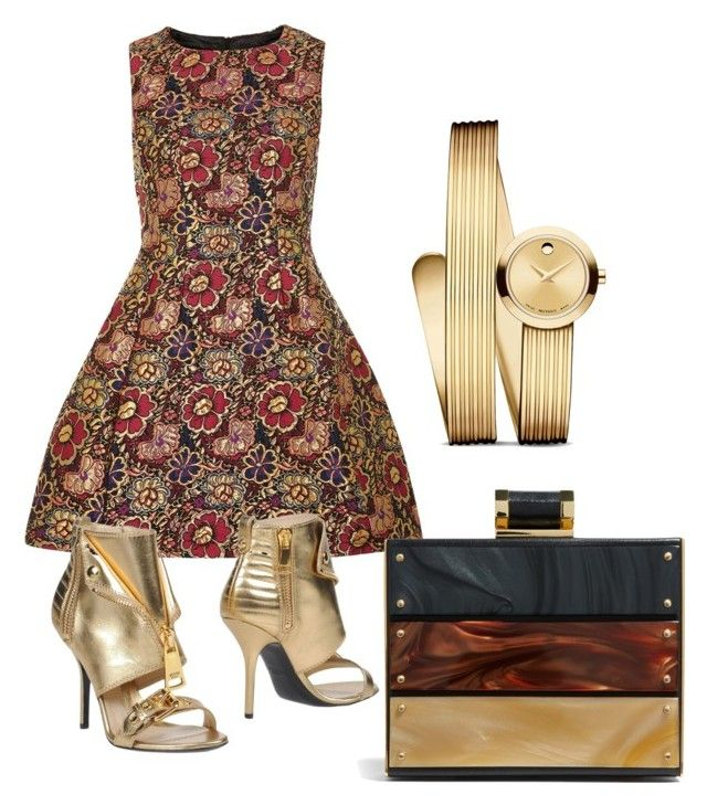 Untitled #662 by cathatin on Polyvore featuring polyvore, fashion, style, Dorothy Perkins, Moschino, Movado and clothing