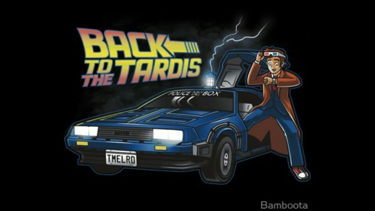Back to the future/Doctor Who!