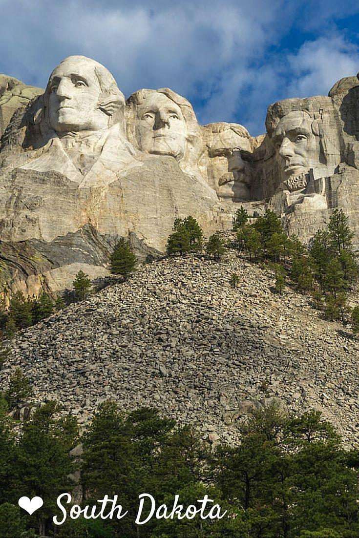 Mount Rushmore in South Dakota // 8 Amazing South Dakota Attractions | The Planet D Adventure Travel Blog: