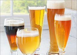 Using the proper beer glassware can enhance the positive aspects of your homebrew! Choosing the Right Beer Glass for Your Homebrew | E. C. Kraus Homebrewing Blog