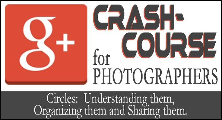 G+ is SO AWESOME for photographers!  Here is a series of G+ tutorials written specifically for pro Photogs!