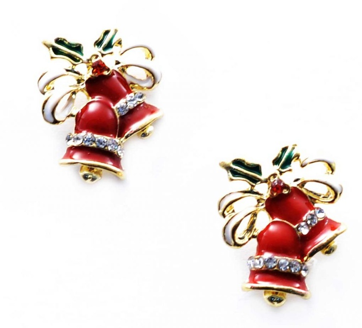 "Cercei ""Winter time"" - Meli Melo - Paris- Christmas time earrings"