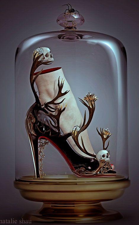 The Black Magic shoes by Natali Shau