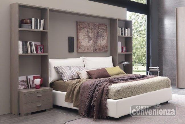 17 migliori idee su arredamento della camera da letto grigio su pinterest arredamento camera - Letto 1 piazza e mezzo con contenitore ...