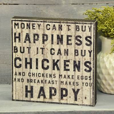 Buy Chickens Sign