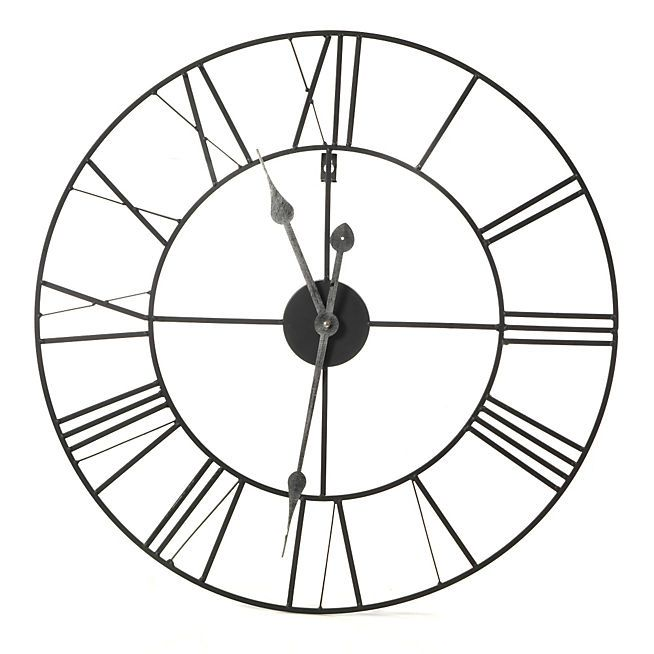Myron Horloge murale 60cm de diamètre