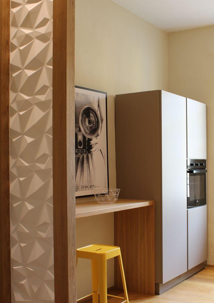 Cucina dell'appartamento nel Palazzo Agnesi - Lavoro finito - Studio Vera Franco