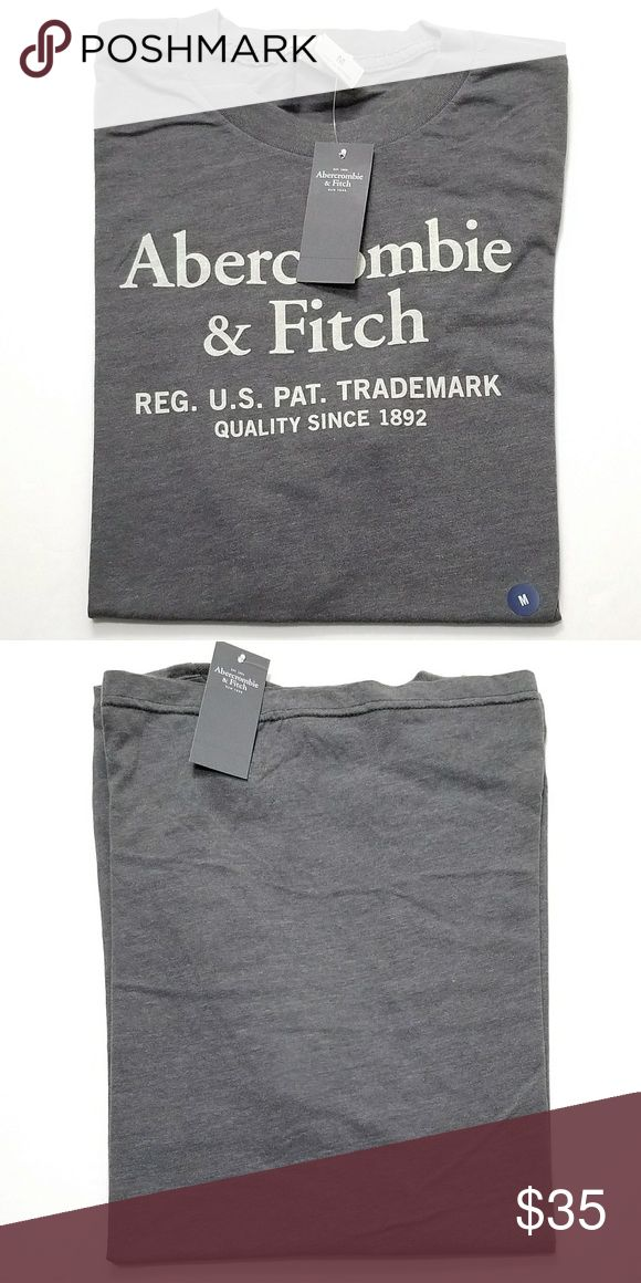 👕Abercrombie And Fitch Classic Graphic T-shirt Perfect Valentine's Gift Brand New Grey Graphic Classic Mens T-shirt Size Medium. No flaws All Sales Final. Raise Question Before Purchase. Please bundle or reasonable offer. Free random gift! Fast Shipping! Abercrombie & Fitch Shirts Tees - Short Sleeve
