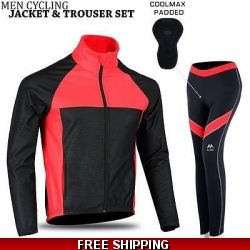 men cycling windproof j..