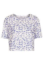 **Ditsy Printed Crop Tee by Oh My Love | £28.00