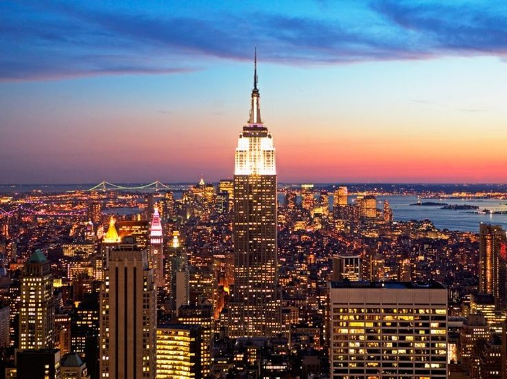 The Empire State Building: New York Cities, Empire States Buildings, Cities Ny, Beautiful, Empire State Building, Travel, Places, New York City, Newyork