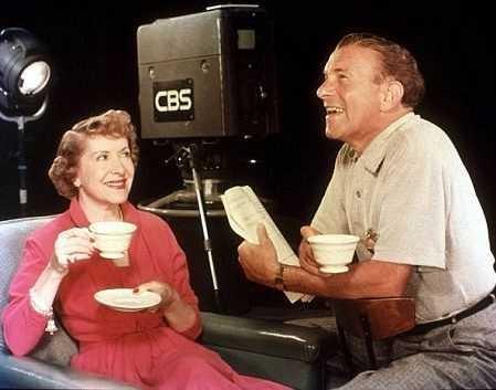 """The George Burns-Gracie Allen Show"" (1950-58)  Gracie Allen and George Burns  c. 1951"