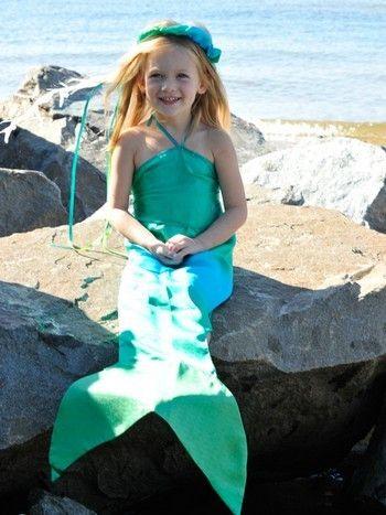 Sarah's Silk Mermaid Costume