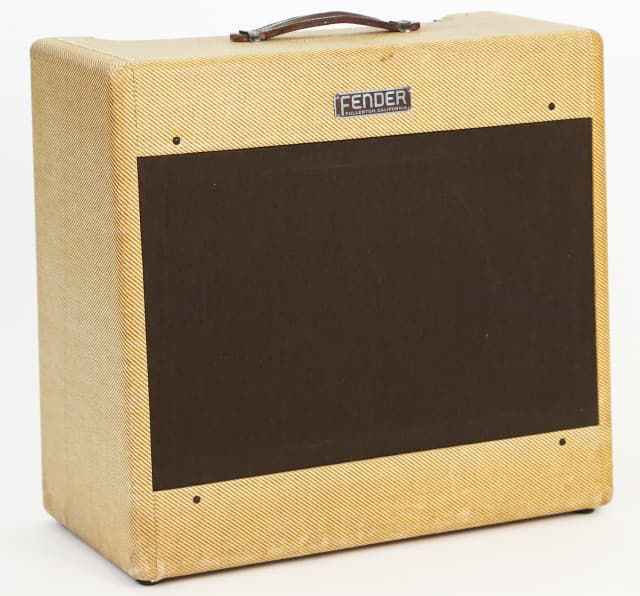 1954 Fender Pro Amp Combo Amplifier - Rare Wide Panel Pro, Very Clean, Serviced!