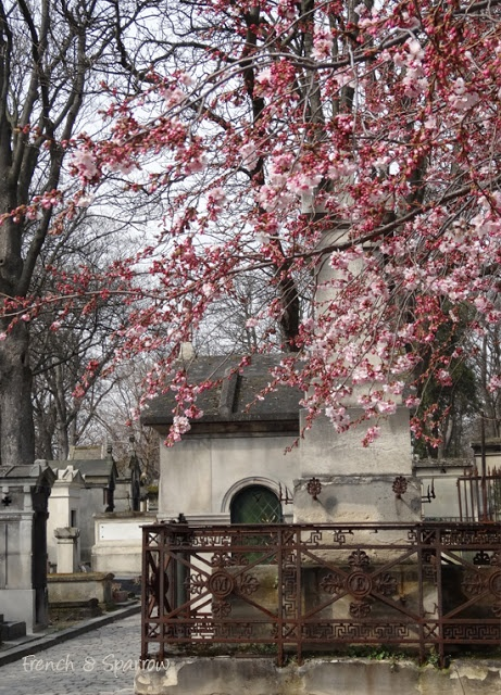 Pere Lachaise Cemetery, Paris, France. One of the largest and most famous cemeteries in the world; the burial places of some of the greatest names in art, literature and history.