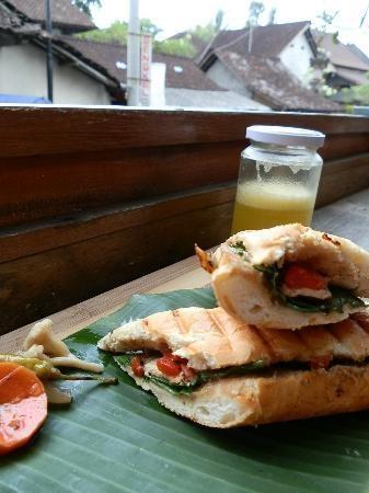 Great panini, Seniman Coffee, Ubud Bali