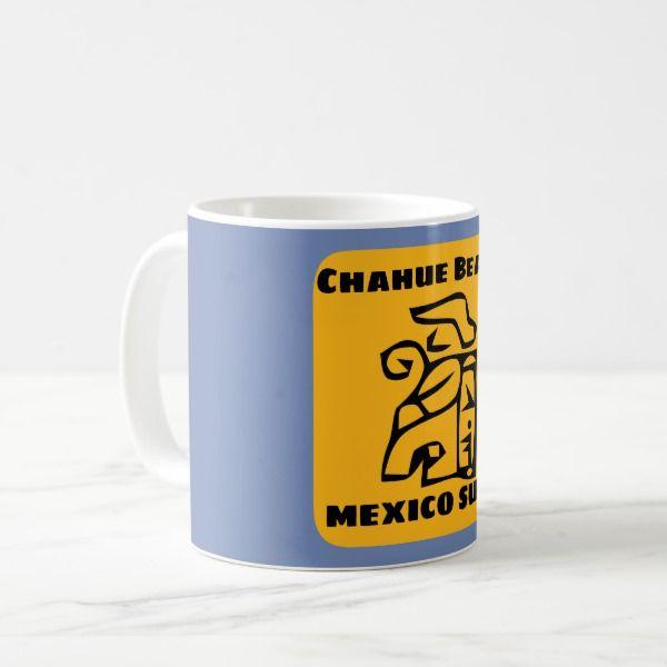 Chahue Beach Surf Coffee Mug Custom office supplies #business #logo #branding