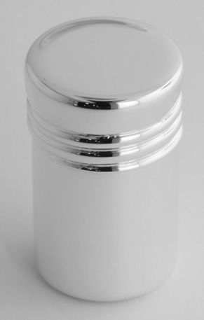 Pillbox Sterling Silver Cylinder Pill Box Made in USA $52.00