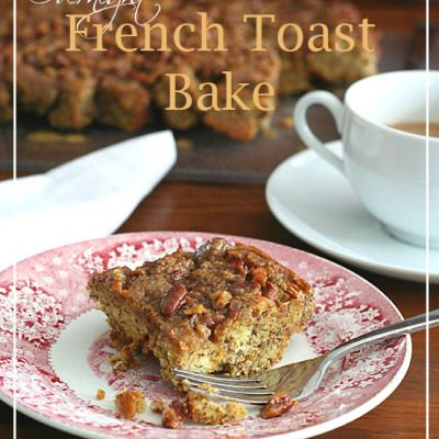 Low Carb Overnight French Toast Bake