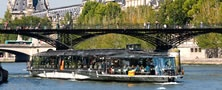 Les Bateaux Parisiens. From 10€ to 99€,  Le Bateaux Parisiens proposes you a large choice of different kind of cruise on the Seine. It is a nice way to visit Paris, and to make your trip unforgettable!