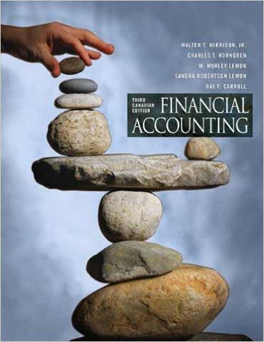 financial accounting third edition answers