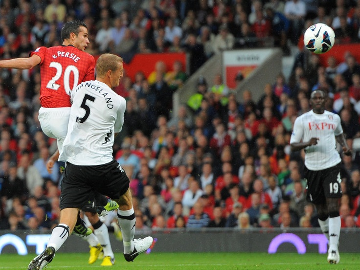 Before Robin van Persie opened his United account with a superb equaliser