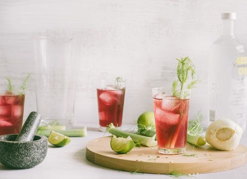 Cranberry Fennel Refresher | Punch drunk n hungry | Pinterest | Fennel ...