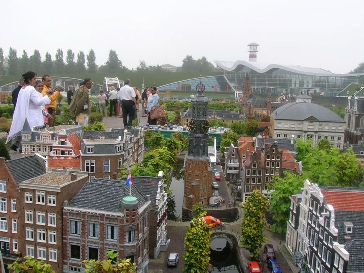 Madurodam, Netherlands. A complete city in miniature. So many things to enjoy in Holland.