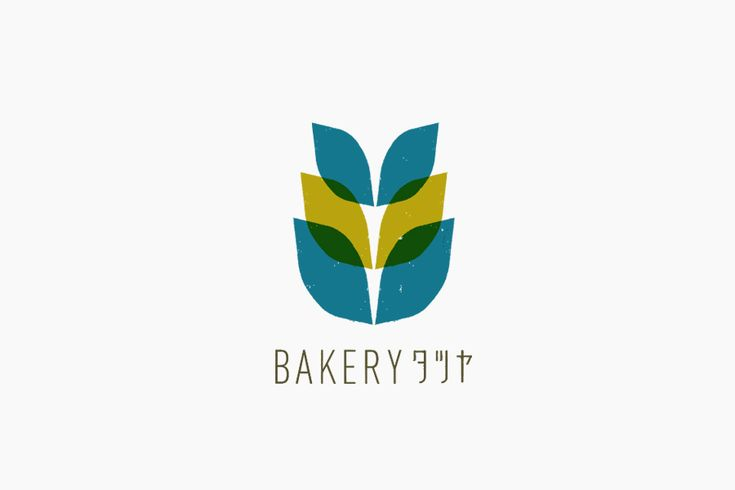 パン屋さんベーカリータツヤのロゴ  #vi #ci #logo #typo #design #fukuoka #bread