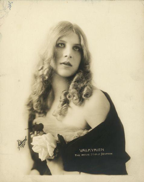 Danish silent film star Valda Valkyrien