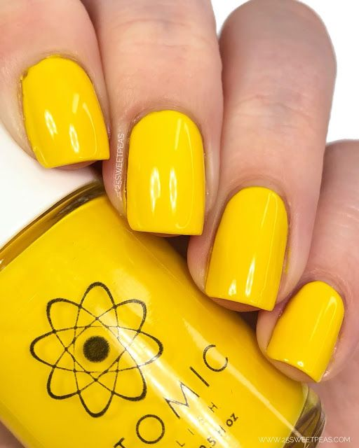 Atomic Polish In 2019 25 Sweetpeas Blog Posts Pinterest Polish