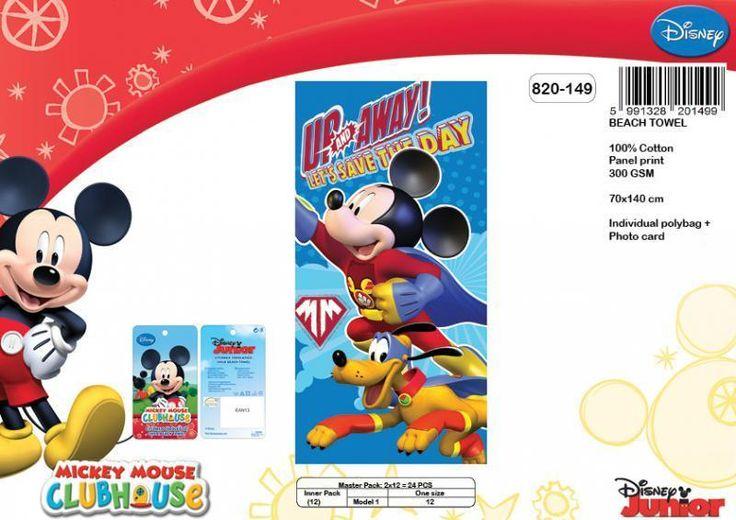 Drap de plage Mickey Disney ref 312