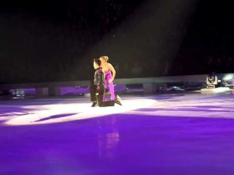Dancing On Ice Live Tour 2014 - Ray Quinn and Maria Filippov,skating to Blurred Lines