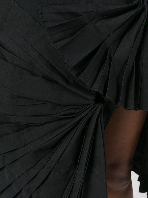 Купить Jacquemus асимметричная юбка с рюшами.
