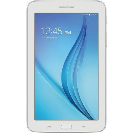 """Refurbished Samsung Galaxy Tab E Lite with WiFi 7.0"""" Touchscreen Tablet PC Featuring Android 4.4 (KitKat) Operating System"""