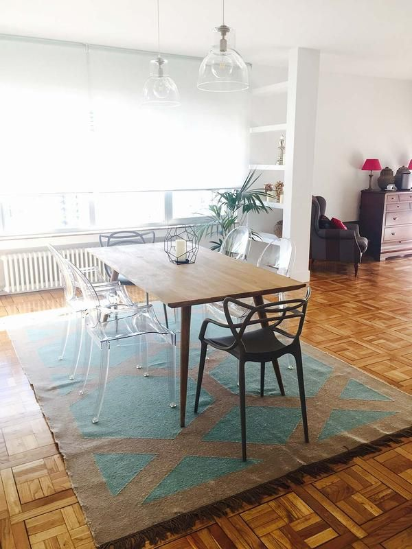La #casa de Lola: Un #apartamento familiar Un impresionante piso familiar de 300 m² en el emblemático Paseo de la Castellana de #Madrid.