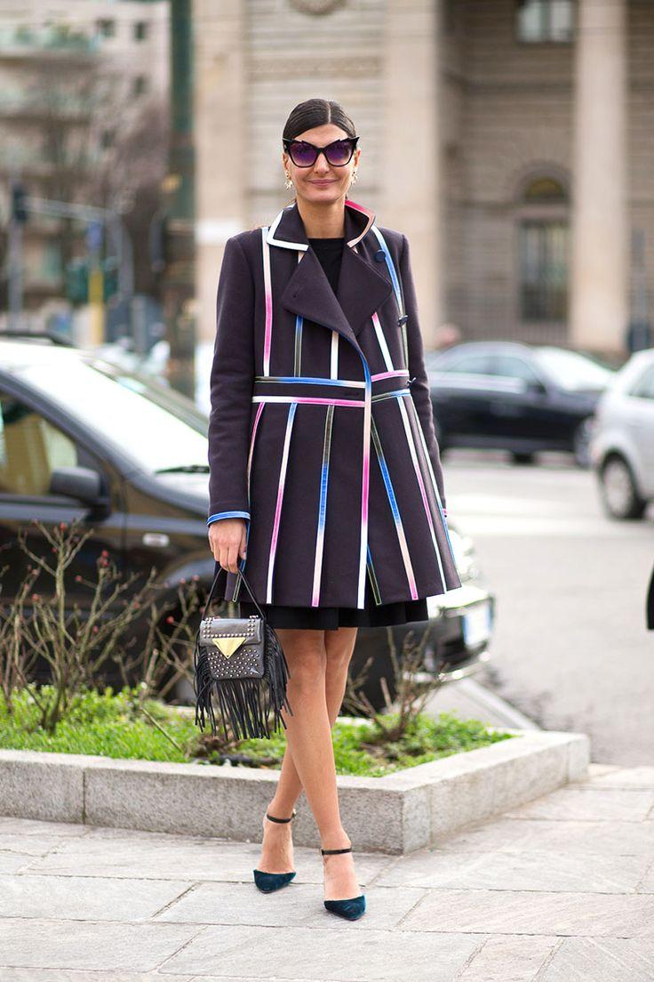 Viva Italia Street Style From Milan