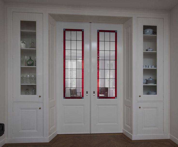 Kamer en suite in belle epoque stijl in den haag deze schuifdeuren en kasten zijn 285cm hoog - Barokke stijl kamer ...