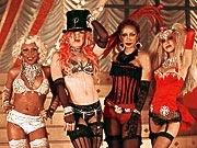 Christina Aguilera, Lil' Kim, Pink, and Maya
